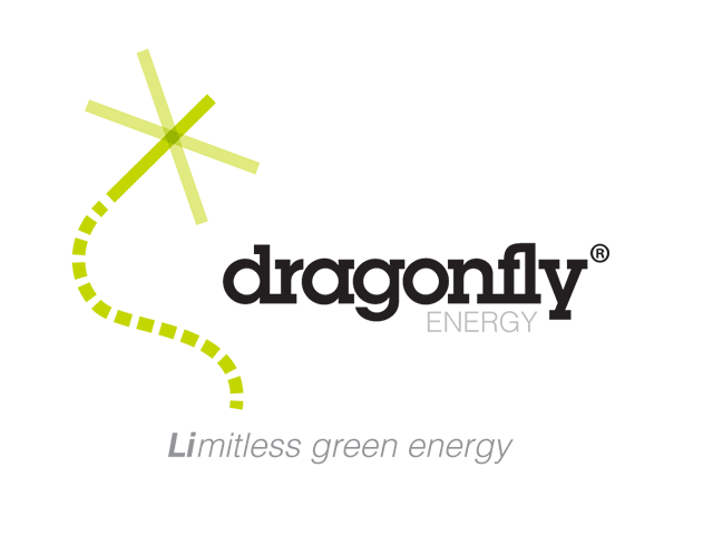 The Dragonfly Energy logo