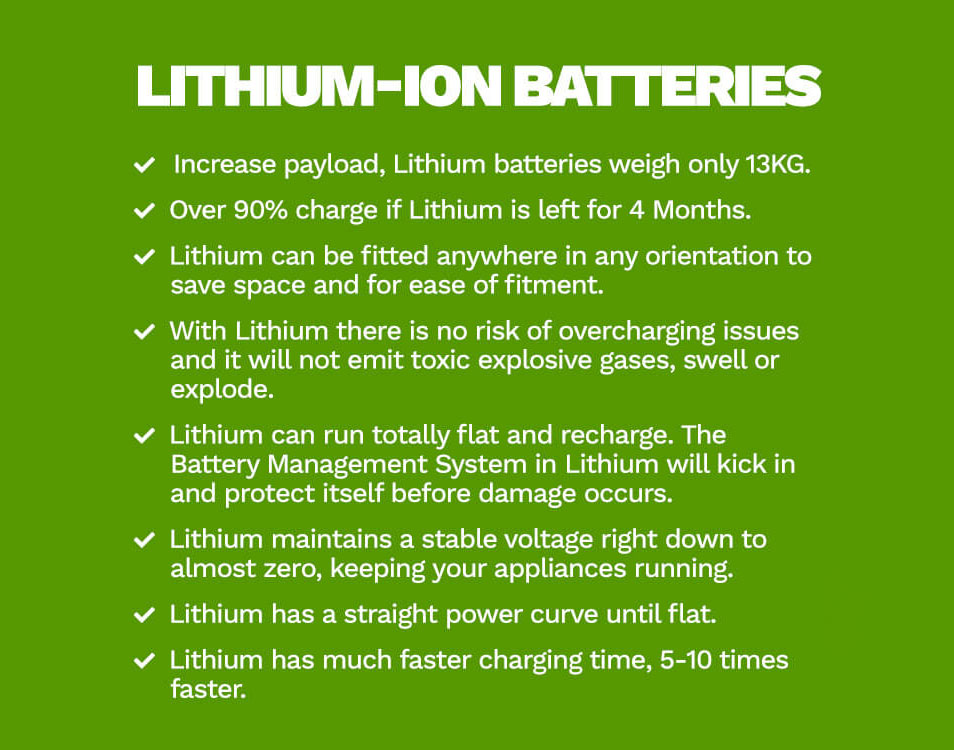 Lithium-ion batteries advantages