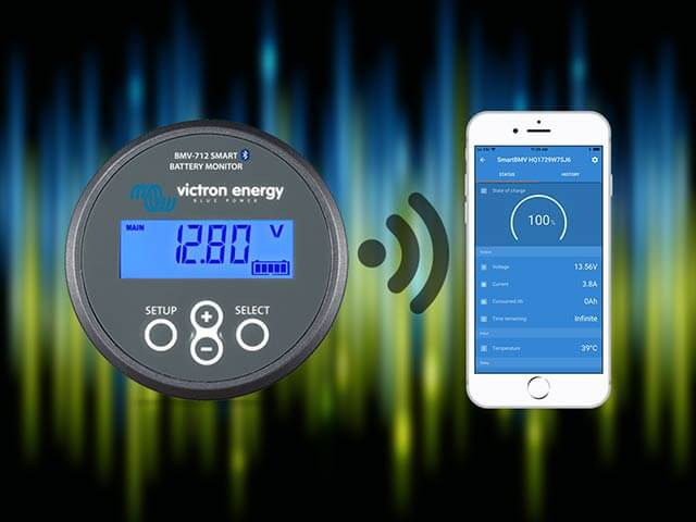The Victron Connect smart energy monitoring kit