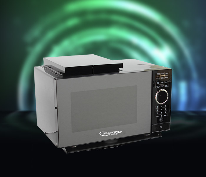 Our Transporter Energy microwave as included in our Transporter Energy System